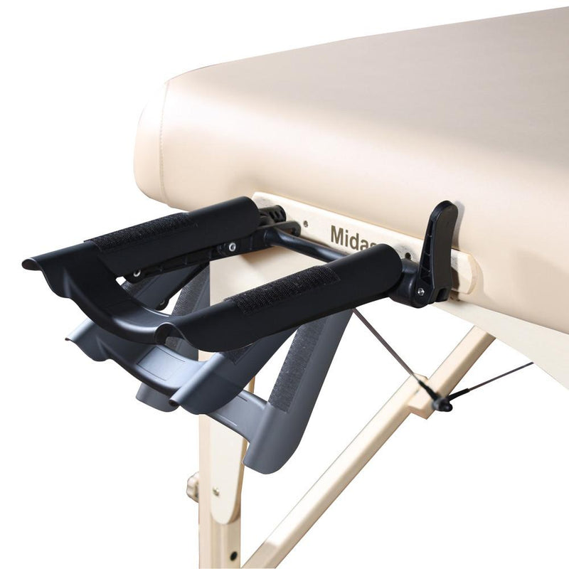 "Master Massage 30"" Monroe LX Portable Massage Table Package"