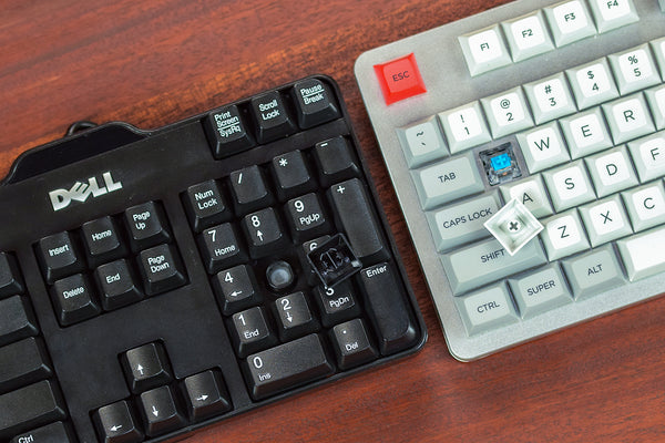 Mechanical Switch Compared with a Rubber Dome Keyboard