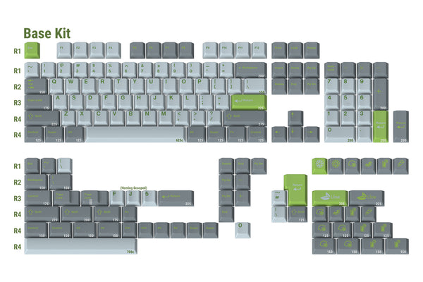 GMK Lime Base Kit