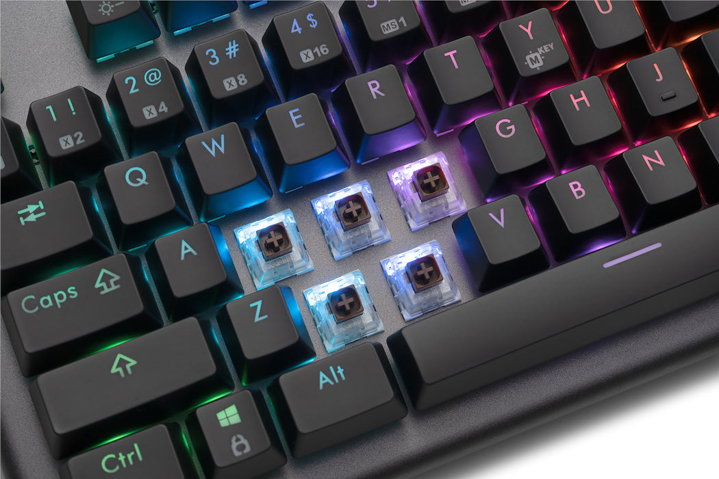 Hexgears Supernova - Metal RGB Mechanical Keyboard