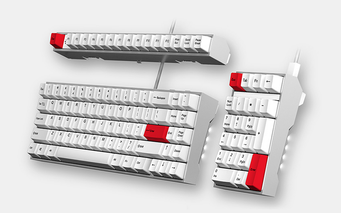 Ganss ALT71 Modular Mechanical Keyboard