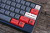 Close Up of Official Licensed Star Wars Galactic Empire Keycap Set