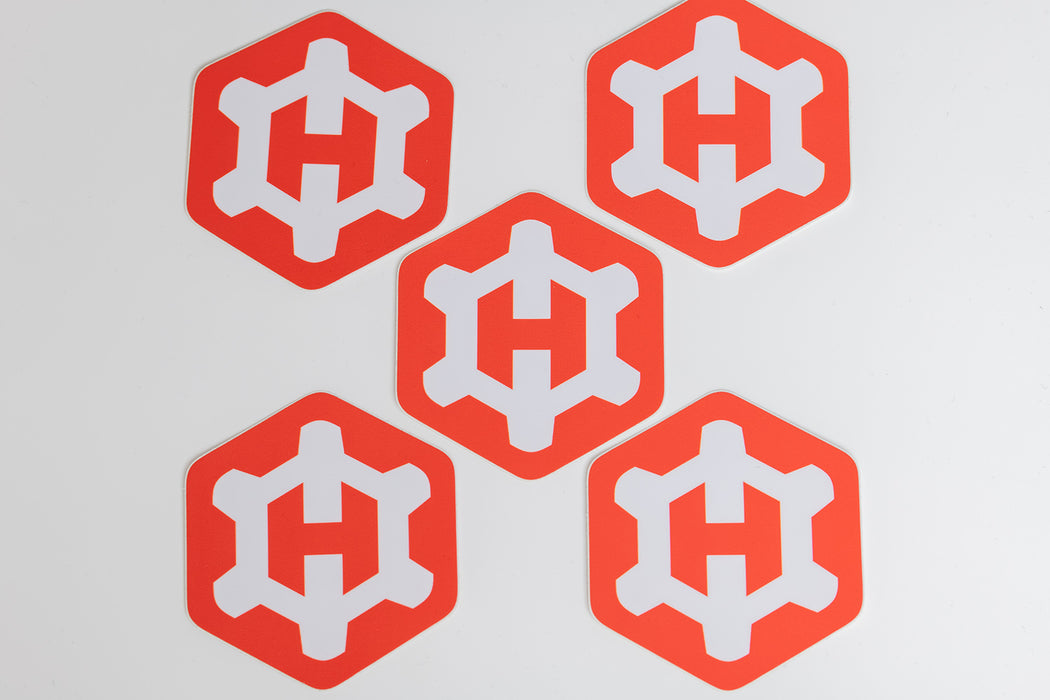 Hexgears Stickers (5 ct.)