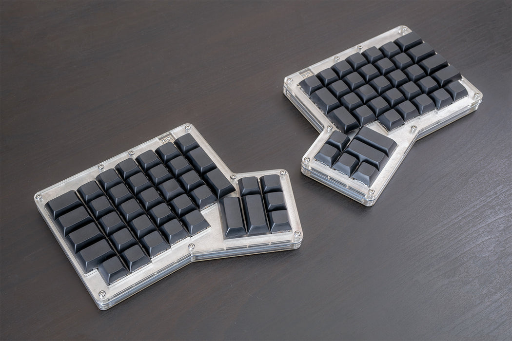 "ErgoDox 76 ""Hot Dox"" Mechanical Keyboard Kit and ErgoDox Keycaps"