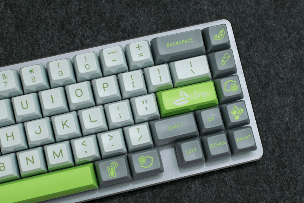 Maxkey Lime Keycap Set