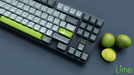 Maxkey Lime Keycap Close Up with Limes