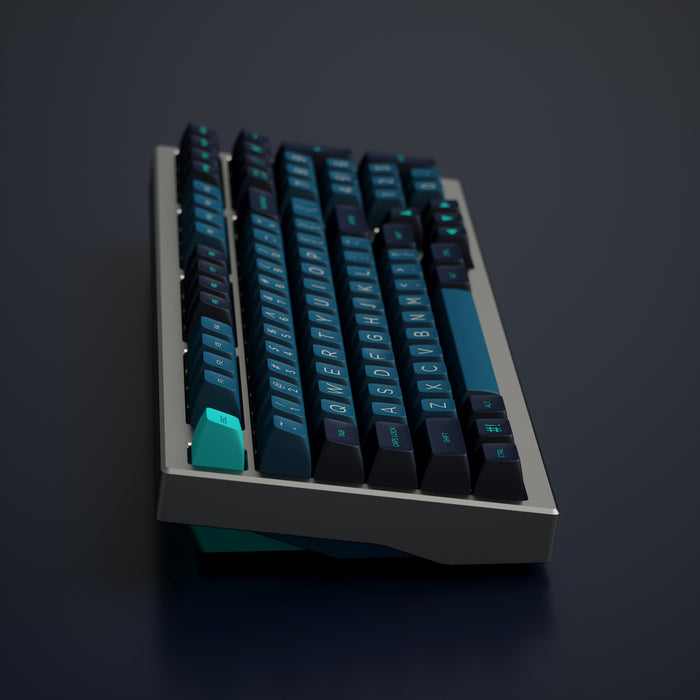 Solarized Dark Keycap Set