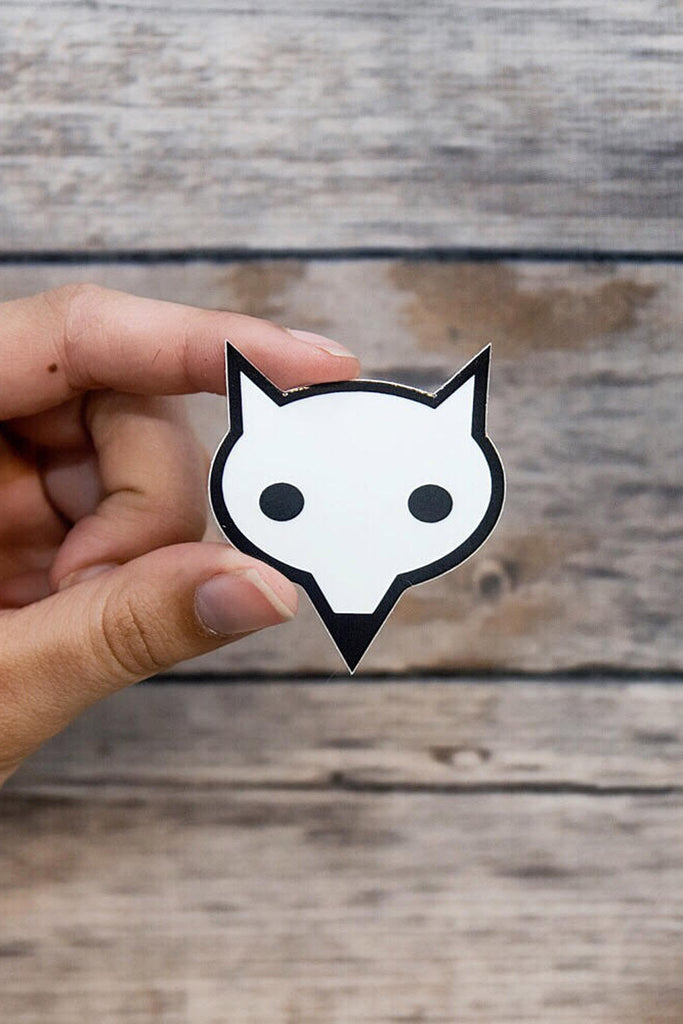 WhiteFox Stickers