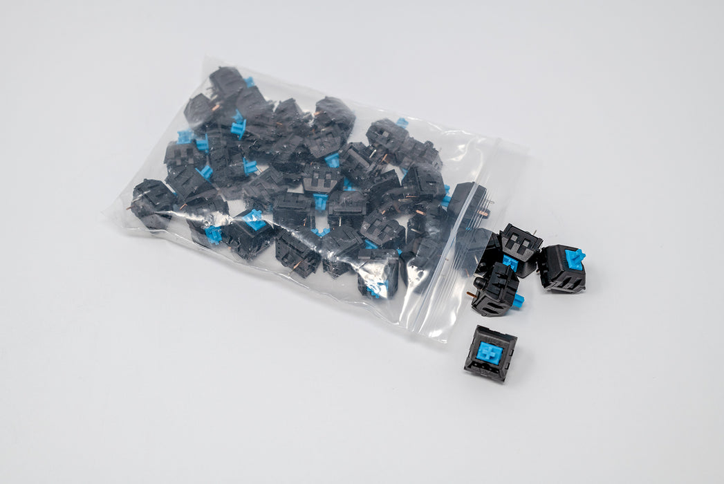Kaihua Blue Mechanical Switches (36 Pack)