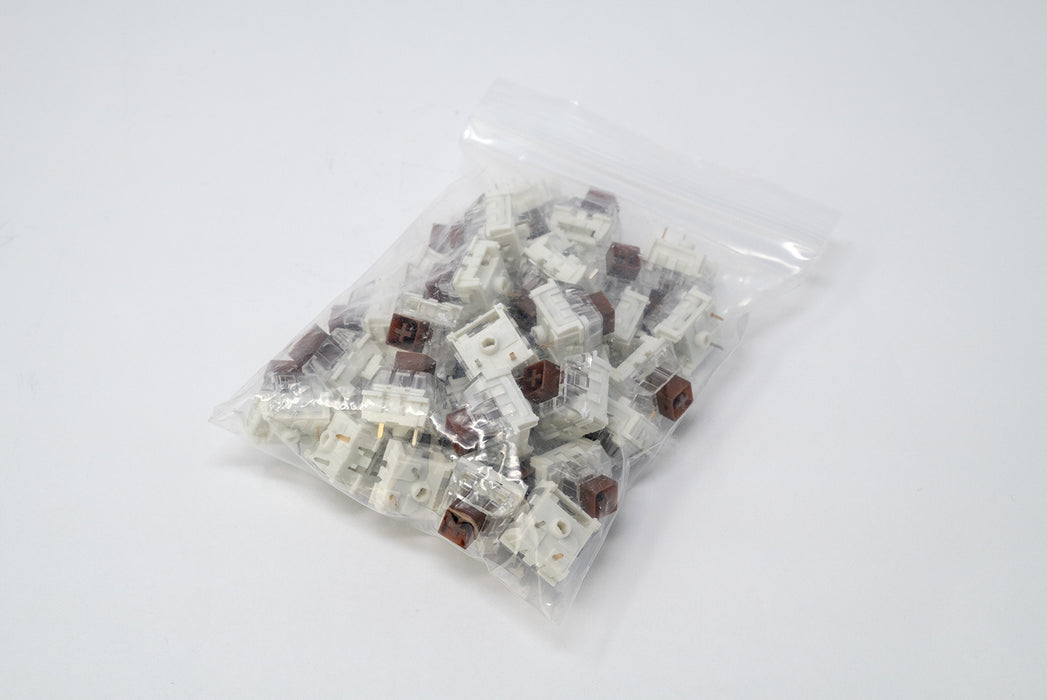 Kaihl Box Brown Mechanical Switches Manufactured by Kaihua