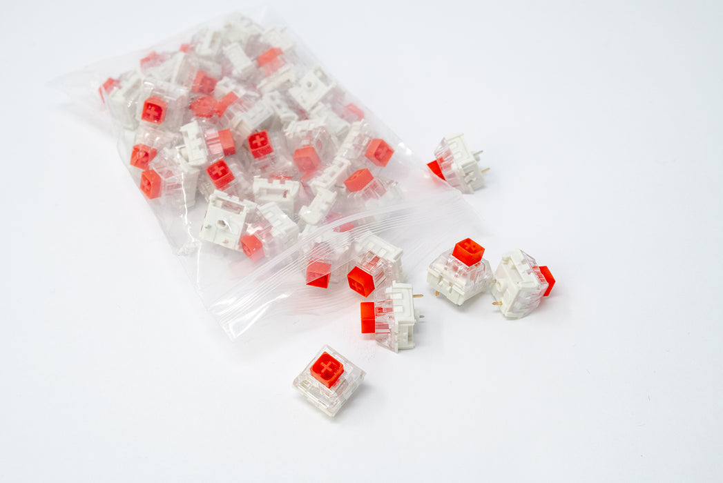 Kaihl Box Red Mechanical Switches Manufactured by Kaihua