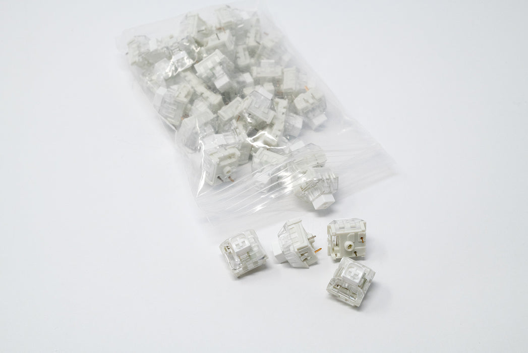 Kaihl Box White Mechanical Switches Manufactured by Kaihua