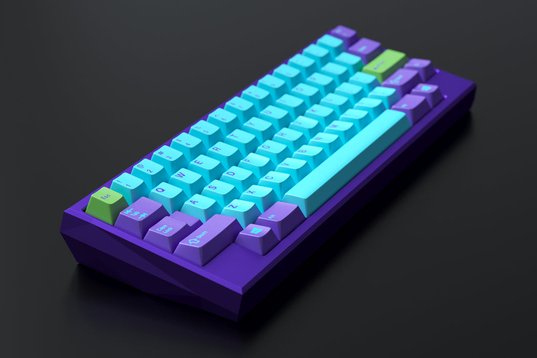 Blue Colorway Kira 60 Mechanical Keyboard