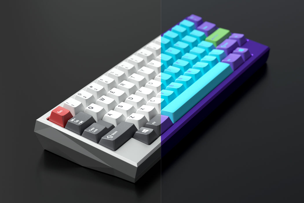 Two Tone Image of Kira 60 Mechanical Keyboard