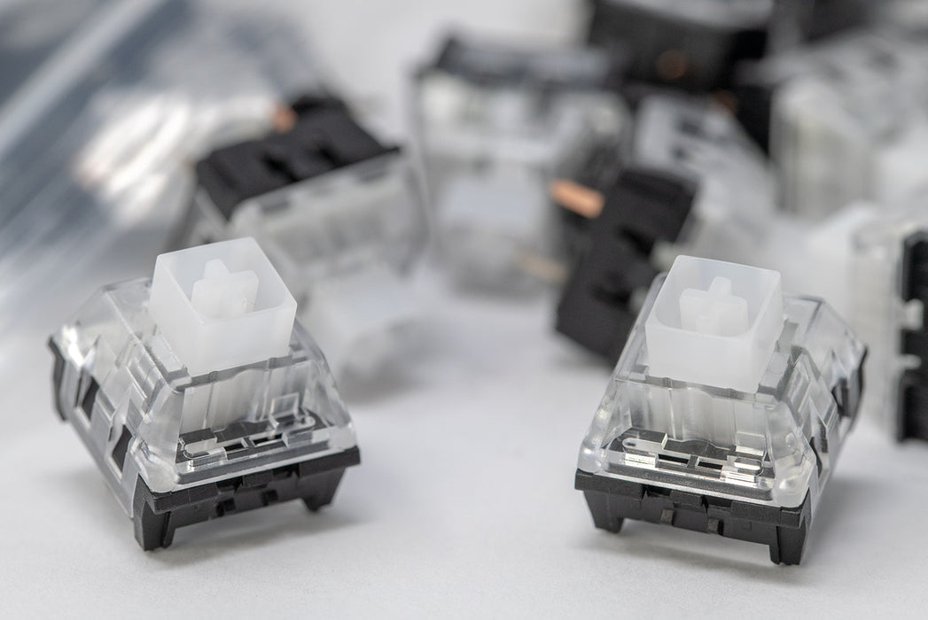 Hako Royal Clear Mechanical Switches (10 ct.)
