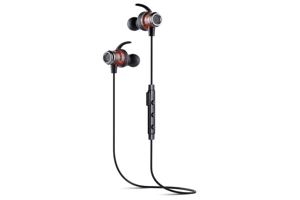 Symphonized DRV Genuine Wood Bluetooth Wireless Active Earbuds