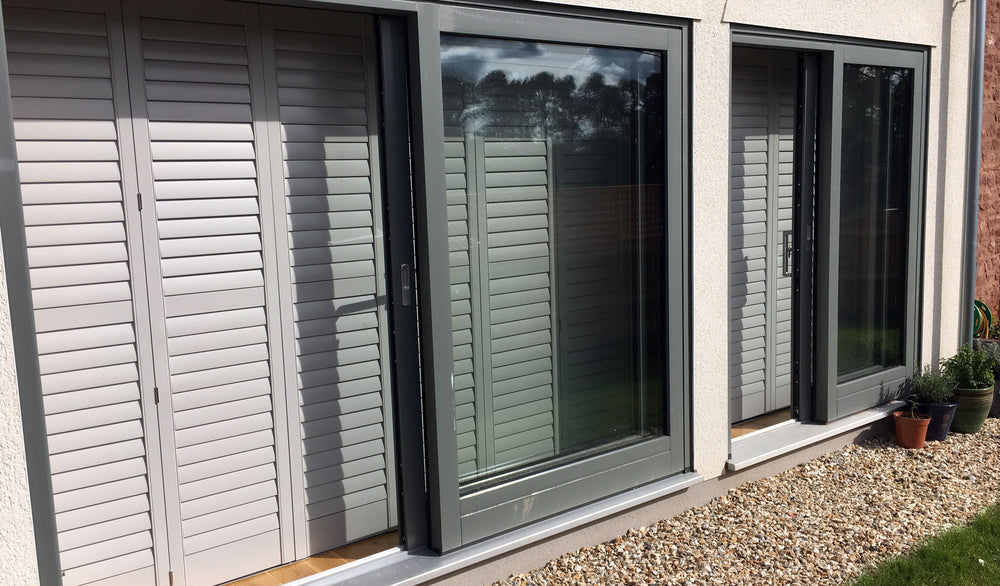 Shutters Chew Magna fitted by Paul Christian Bristol