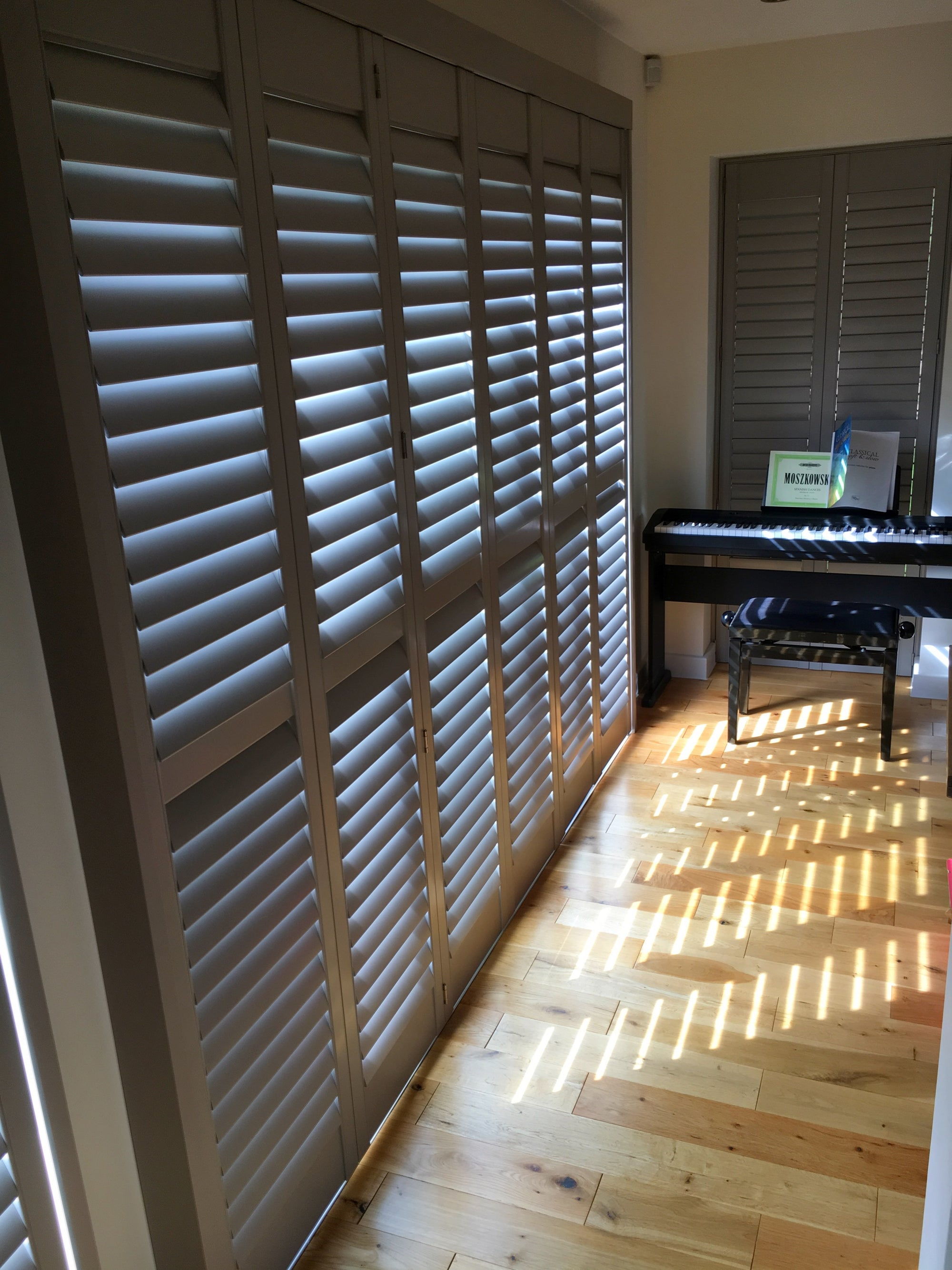 Bifold wood shutters from Paul Christian Bristol