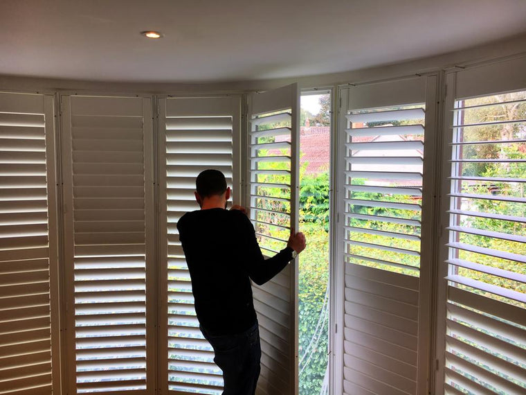 Expert fitting wood shutters Bristol