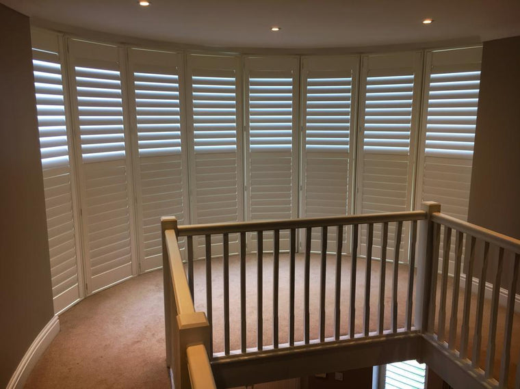 Bay window shutters fitted by Paul Christian Bristol