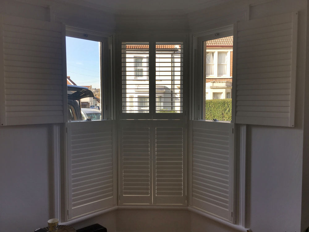 Shutters fitted by Paul Christian Bristol
