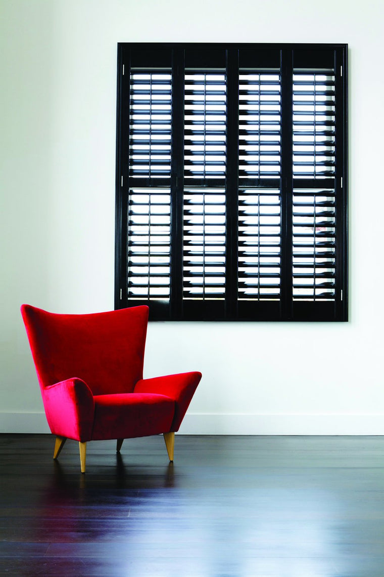 classic wood shutters from Paul Christian Bristol