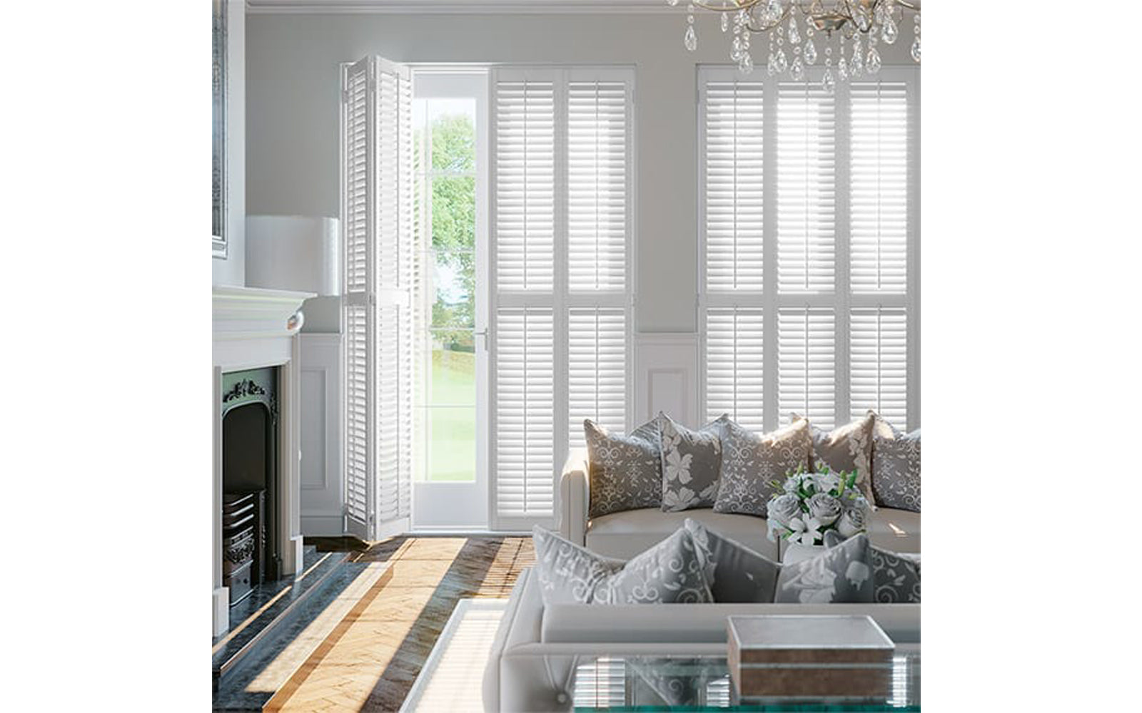 Full Height Wooden Shutters from Paul Christian Bristol