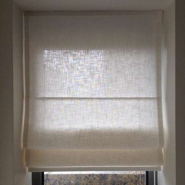 Roman blind handmade by our seamstresses in Bristol Paul Christian