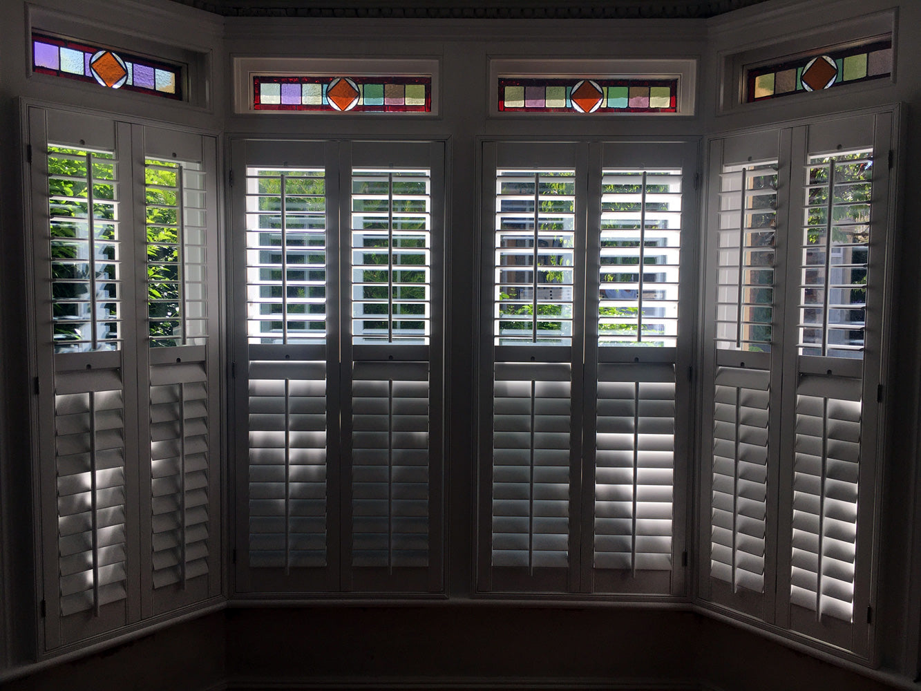 Wood Shutters fitted by Paul Christian Bristol Bath