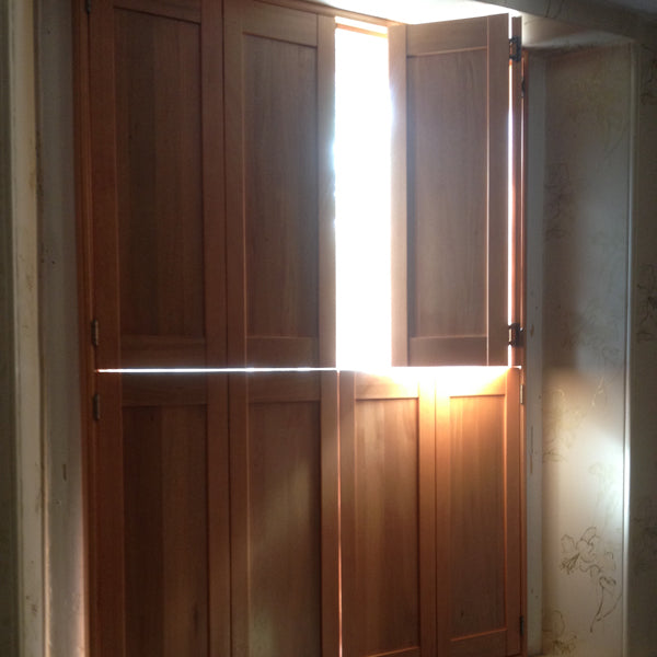 Classic solid wood shutters - Bristol
