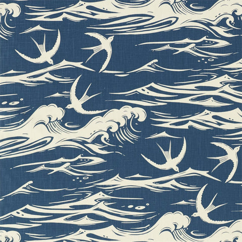 swallows sanderson national trust curtain fabric