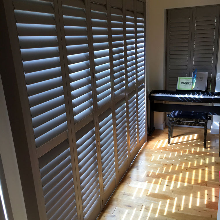Tracked shutters from Paul Christian Bristol