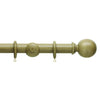35mm Origins Wooden Curtain Pole with Ball Finial