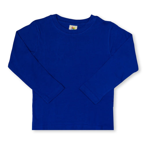 Royal Long Sleeve Plain Tee