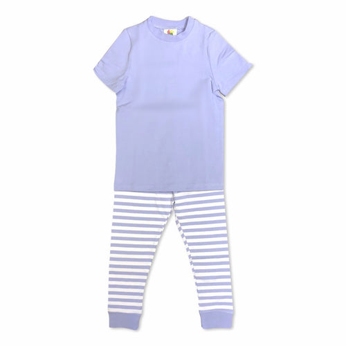 Lavender Short Sleeve Pajamas