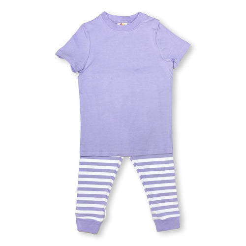 Lilac Short Sleeve Pajamas