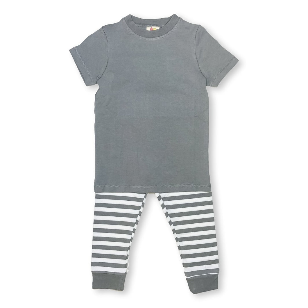 Slate Short Sleeve Pajamas