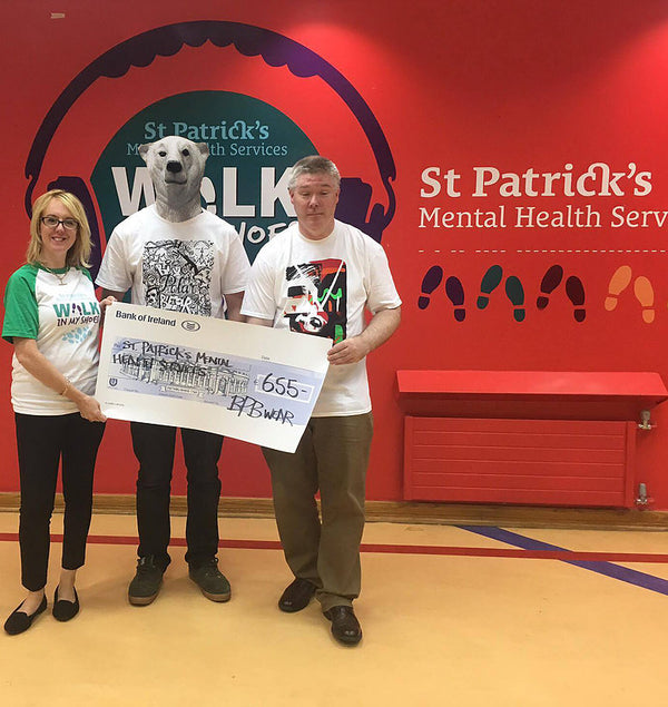 Stephen Considine BPB Wear Arklow St PAtricks Mental Health Services