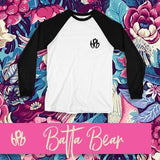 Batta Bear - ✚<Long Slee Baseball Tee>✚ - Bipolar Bear BPB Wear