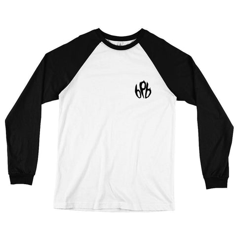 Batta Bear - Long Sleeve Baseball T-Shirt - BPB Wear