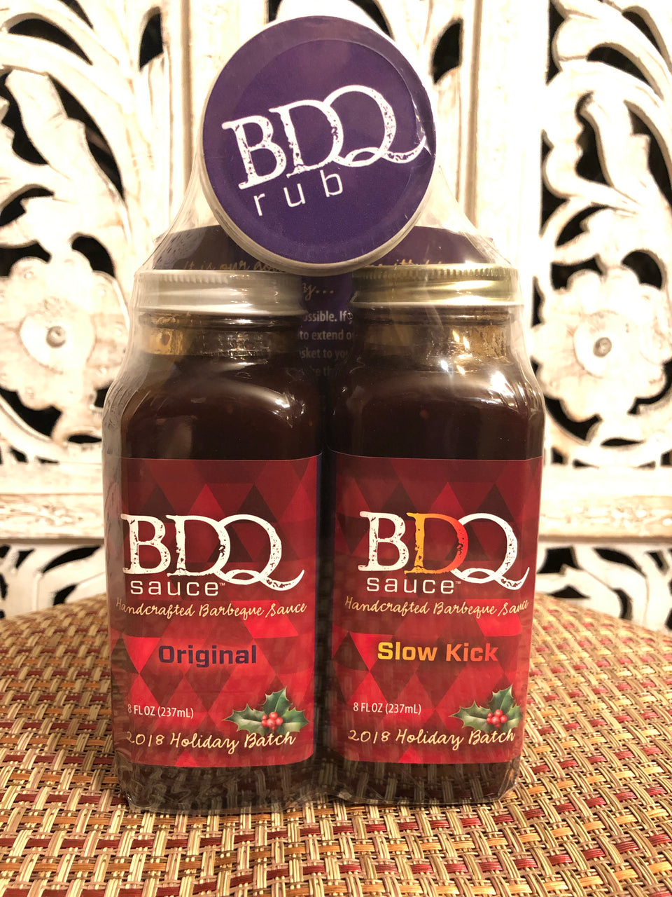 2018 BDQ Sauce Holiday Gift Set