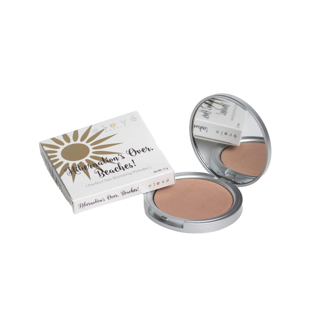 Hibernation's Over, Beaches! {Perfect Tan Bronzer} - Elevé Cosmetics