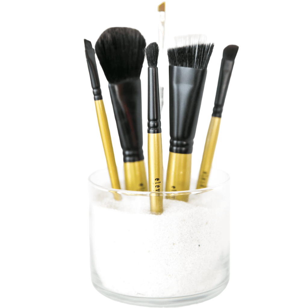 6-piece Faux Brush Collection - Elevé Cosmetics