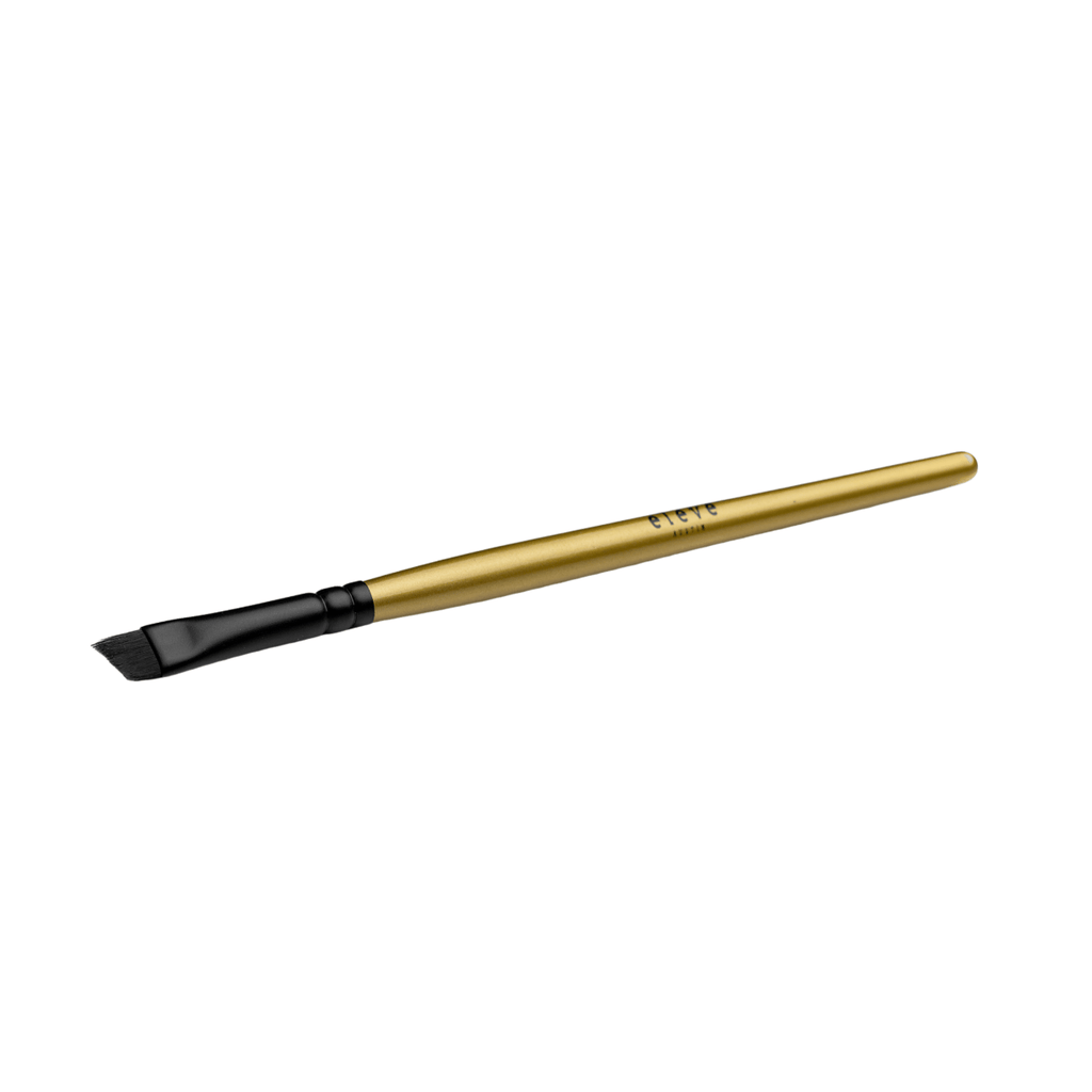 Gold Slanted Liner Brush - Elevé Cosmetics