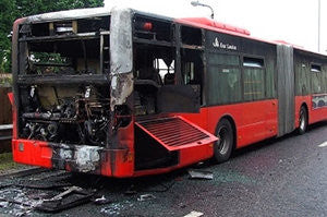 LONDON BUS FIRE SUPPRESSION CAMPAIGN - CONVERSION FROM POWDER