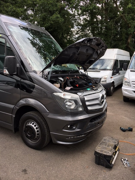 Fogmaker Mercedes Sprinter Installation
