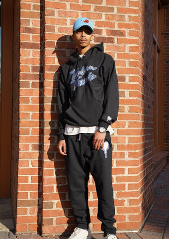 Blue Blaze Sweatsuit - Urban Vessels Clothing