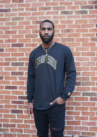 Liquid Gold Long-Sleeve Tee - Urban Vessels