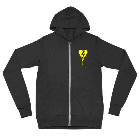 Thunderstruck Zip Hoodie - Urban Vessels Clothing