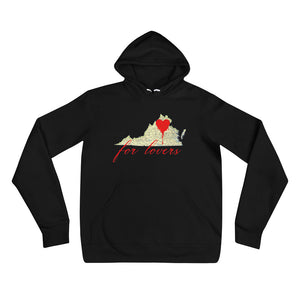 VA For Lovers Hoodie - Urban Vessels